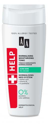 Antibacterial moisturizing tonic