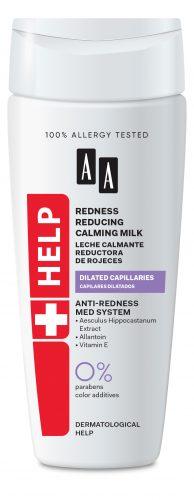 Redness reducing calming milk