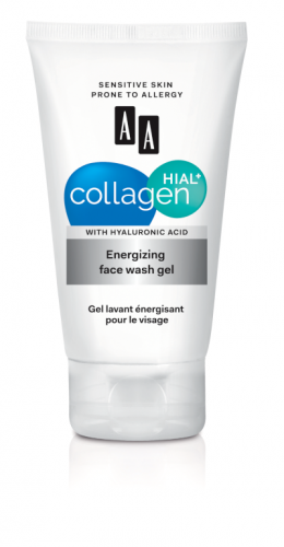 Energizing face wash gel
