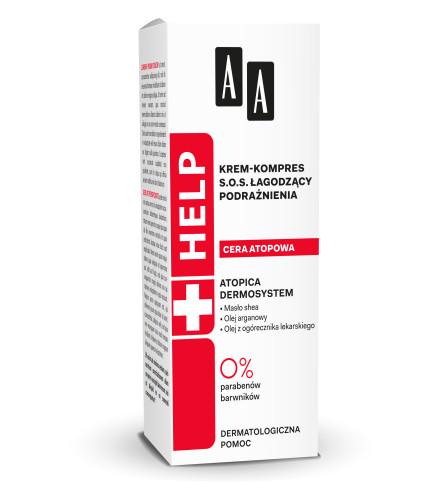 Krem-kompres SOS łagodzący podrażnienia