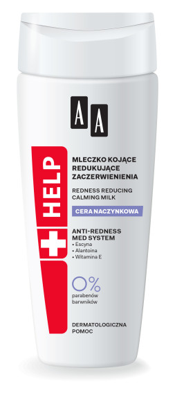 Redness reducing calming milk