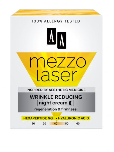 Wrinkle decreasing night cream regeneration + firmness