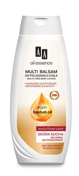Multi balsam do pielęgnacji ciała nawilżenie i elastyczność skóra sucha skłonna do podrażnień