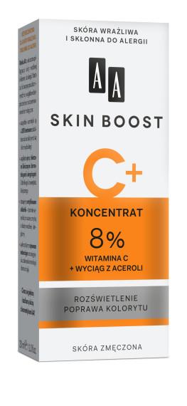Koncentrat 8% witamina C + wyciąg z aceroli