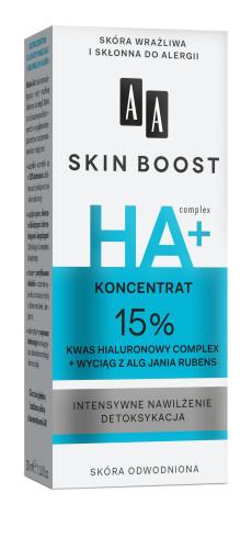 Koncentrat 15% kwas hialuronowy complex + wyciąg z alg Jania rubens