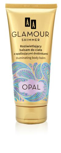 Rozświetlający balsam do ciała z opalizującymi drobinkami OPAL