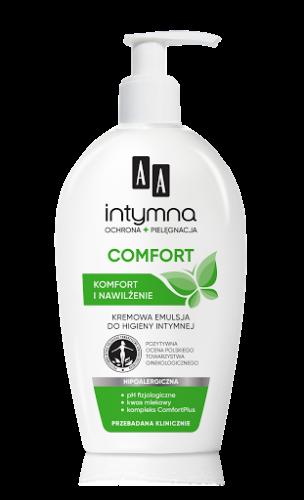 COMFORT Kremowa emulsja do higieny intymnej