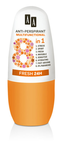 Anti-Perspirant Multifunctional 8 in 1 Fresh 24 h