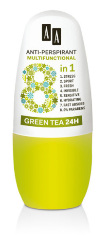 Anti-Perspirant Multifunctional 8 in 1 Green Tea 24 h