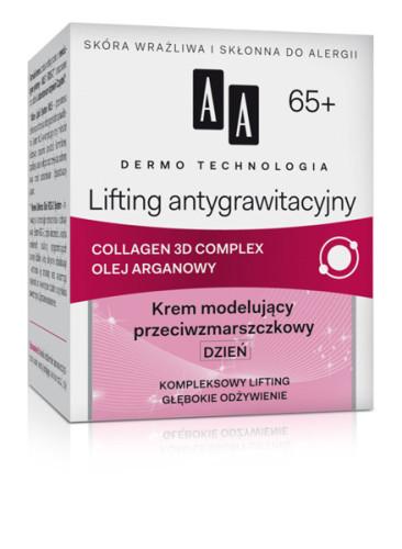 Lifting antygrawitacyjny 65+ Krem modelujący przeciwzmarszczkowy DZIEŃ
