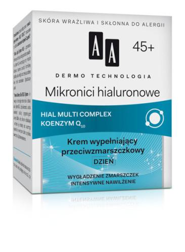 Mikronici hialuronowe 45+ Krem wypełniający przeciwzmarszczkowy DZIEŃ