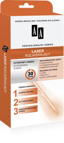 Laser rozjaśniający