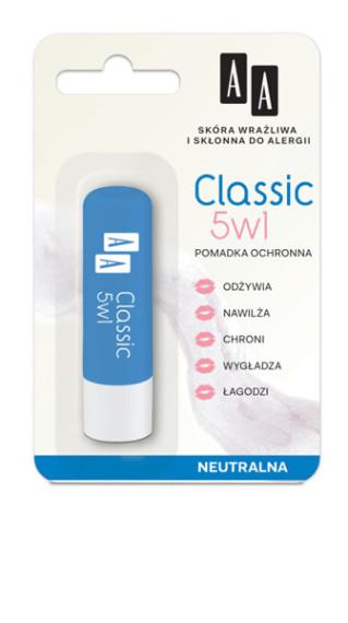 Pomadka ochronna CLASSIC 5 W 1