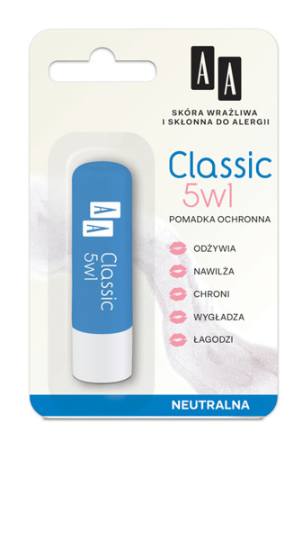 Protective lipstick CLASSIC 5 in 1