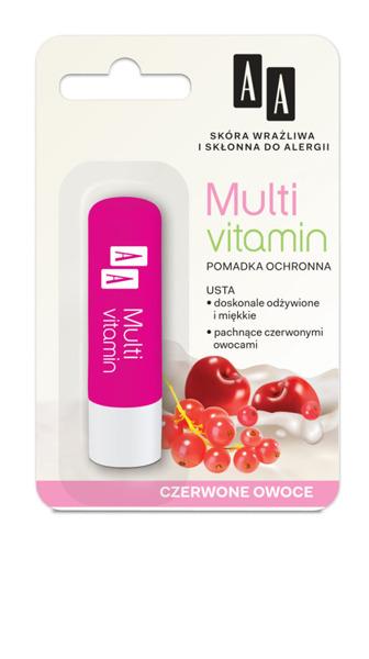 Protective lipstick MULTI VITAMIN