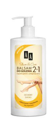 Balsam do golenia 2w1 do skóry suchej z olejem arganowym