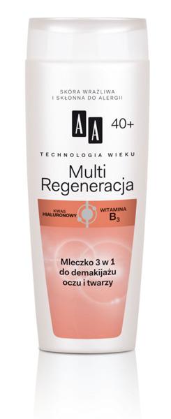 Multi Regeneracja Mleczko 3 w 1 do demakijażu oczu i twarzy