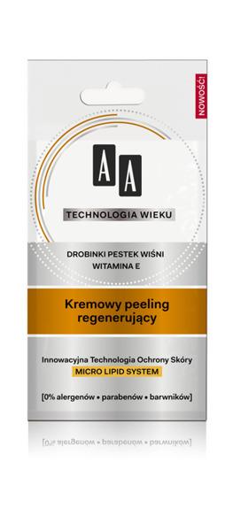 Kremowy Peeling regenerujący