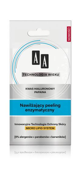 Nawilżający Peeling enzymatyczny
