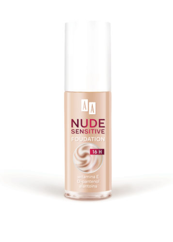 AA MAKE UP Nude Sensitive Podkład nawilżająco-łagodzący