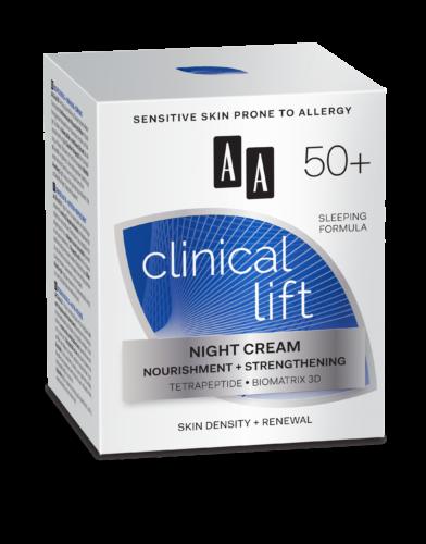 Night cream nourishment + strengthening