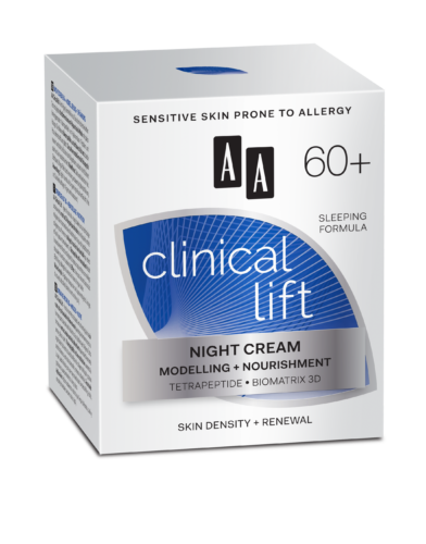 Night cream modelling + nourishment