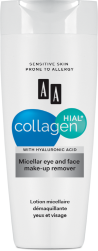 Micellar eye and face make-up remover