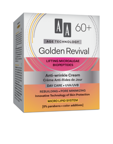 Golden Revival Anti-wrinkle day cream