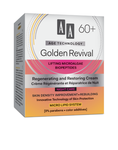 Golden Revival Regenerating and restoring night cream