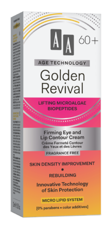 Golden Revival Firming eye and lip contour cream