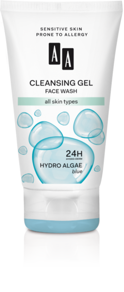 Cleansing gel face wash all skin types