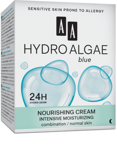 Nourishing cream intensive moisturizing combination /normal skin night