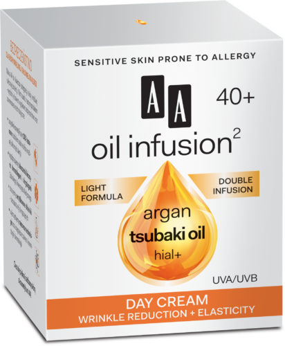 Day cream wrinkle reduction + elasticity