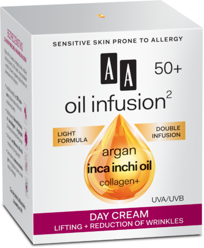 Day cream lifting + reduction of wrinkles