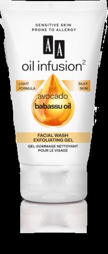 Facial wash exfoliating gel