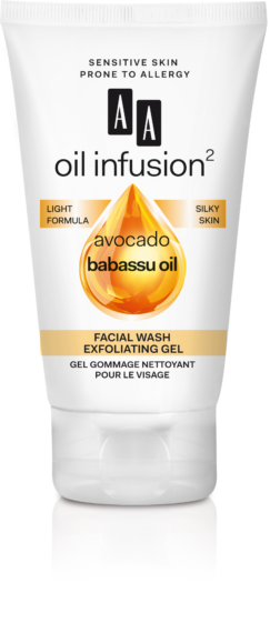 exfoliate facial gel