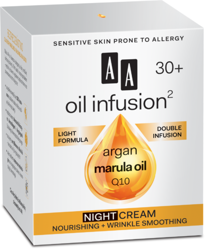 Night cream nourishing + wrinkle smoothing