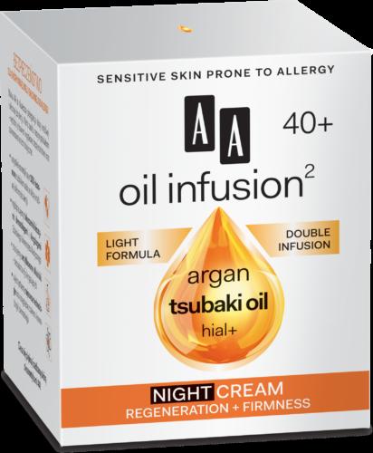 Night cream regeneration + firmness