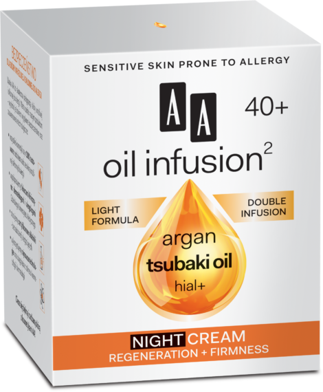 Night cream regeneration + firmness