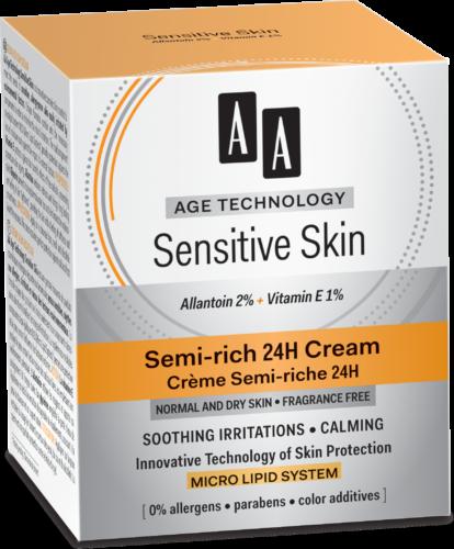 Semi-rich 24 h Cream