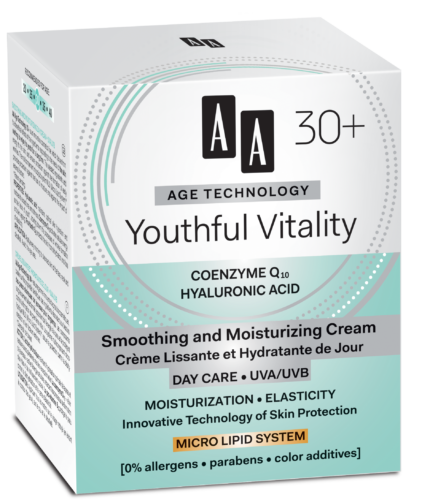 Youthful Vitality Smoothing and moisturizing cream day