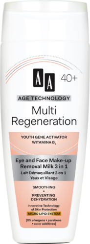 Multi Regeneration Eye and face make-up removal milk 3 in 1