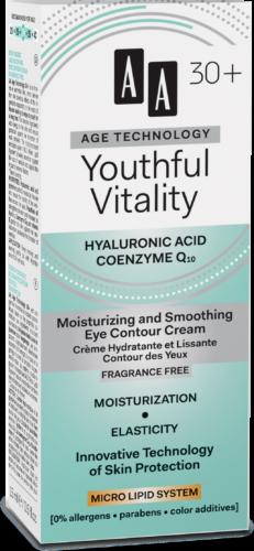 Youthful Vitality Moisturizing and smoothing eye contour cream