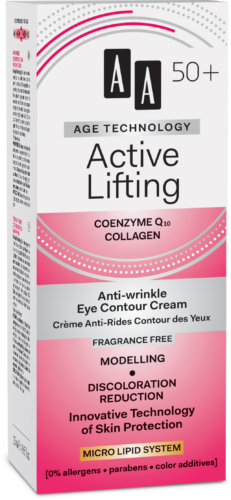 Active Lifting Anti-wrinkle eye contour cream