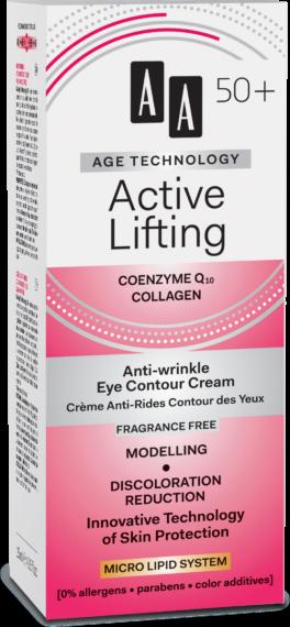Active Lifting Anti-wrinkle eye contour cream