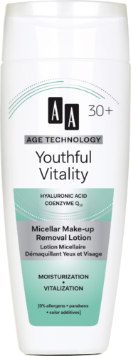 Youthful Vitality Micellar make-up removal lotion