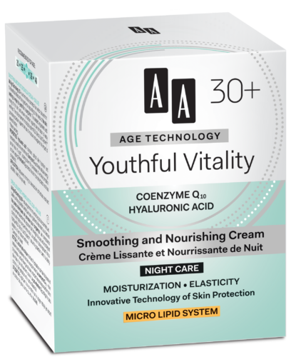 Youthful Vitality Smoothing and nourishing night cream