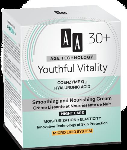 Youthful Vitality Smoothing and nourishing night cream