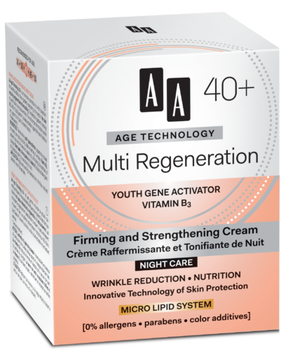 Multi Regeneration Firming and strengthening night cream