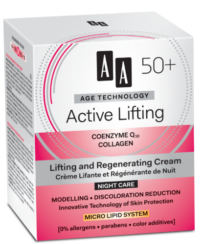 Active Lifting Lifting and regenerating night cream